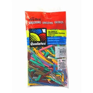 風船 Qualatexマジックバルーン 260Q エンターテイナーアソート(1個入)|horishoten