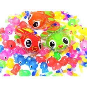 お祭り・縁日イベントで大人気のすくい人形のアソートセットが新発売!こちらは可愛いきんぎょ系浮かし景品...