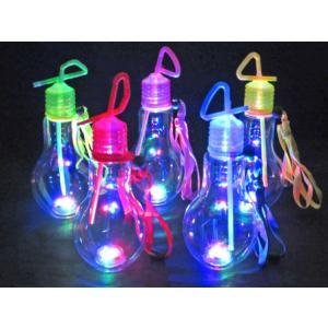 カラフル電球ボトル 500ml(10個入) horishoten