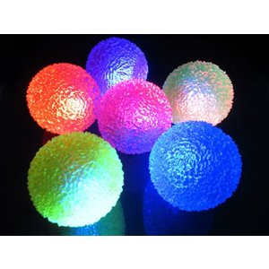 光るおもちゃ フラッシュキラキラボール(12個入) horishoten