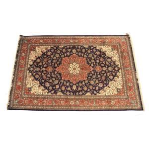 ペルシャ絨毯 コム 最高級クム シルク製 メダ...の詳細画像1