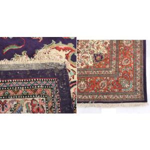 ペルシャ絨毯 コム 最高級クム シルク製 メダ...の詳細画像3