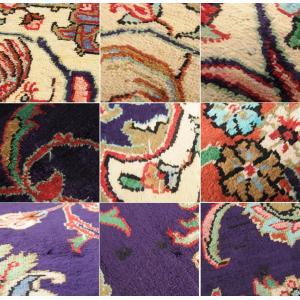 ペルシャ絨毯 コム 最高級クム シルク製 メダ...の詳細画像5