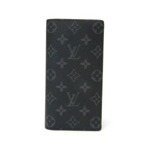 【新品】ルイヴィトン 長財布 ポルトフォイユ・ブラザ M61697 エクリプス ヴィトン 財布(37551) horita78