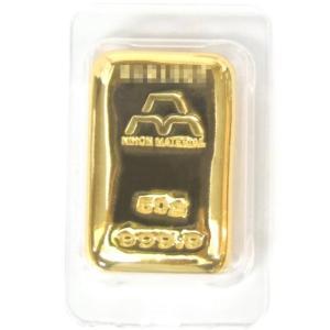 日本マテリアル 純金 インゴット 50g  24金 ゴールドバー /ゴールド/K24 金塊(38131)(38131)|horita78