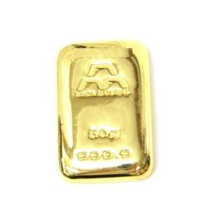 日本マテリアル 純金 インゴット 50g  24金 ゴールドバー /ゴールド/K24 金塊(38131)(38131)|horita78|02