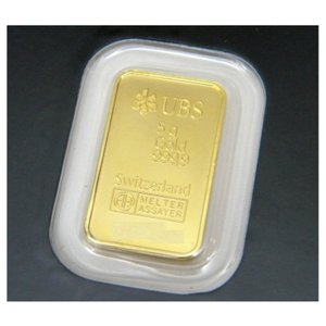 UBS 純金 インゴット 5g ゴールドバー 24金 ingot /ゴールド/K24(41645)