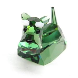 【ブランド名】: スワロフスキー SWAROVSKI 【商品名】: 置物 犬 ラブロッツ ギャングオ...