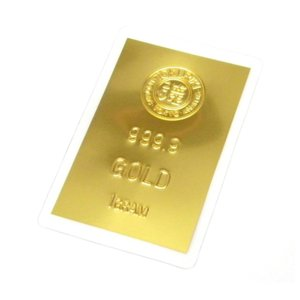 徳力本店 純金 インゴット カード 24金 ingot ゴールド K24 1g(44996)