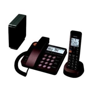 シャープ デジタルコードレス電話機 子機1台 JD-XG1CL-T ブラウン系(45341)|horita78