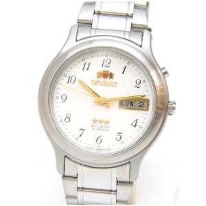 オリエント ORIENT メンズウォッチ 腕時計 自動巻き SS アラビア文字 469WA1-71 白盤 ステンレススチール(47648)|horita78