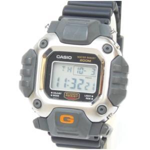 カシオ メンズウォッチ 腕時計 G-SHOCK ガンダムモデル 一部破損有 DW-6400C-1V グレー 【中古】(48660)|horita78