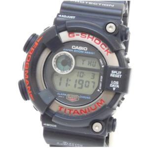 カシオ Casio メンズウォッチ 腕時計 G-SHOCK フロッグマン DW-8200-1A 黒 【中古】(48661)|horita78