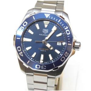 タグホイヤー メンズウォッチ 腕時計 アクアレーサー WAY111C ブルー盤 ステンレススチール(49067)|horita78