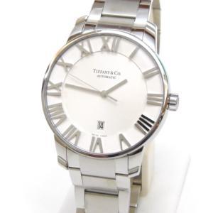 ティファニー TIFFANY&Co. メンズウォッチ 腕時計 自動巻き アトラスドーム 白盤 ステンレススチール 【中古】(50033)|horita78