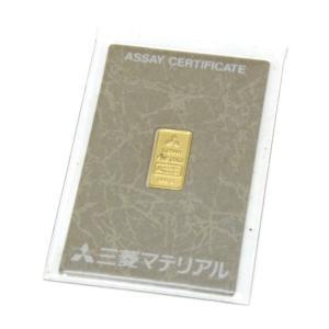 三菱マテリアル 純金インゴット ゴールドバー 24金 ingot /ゴールド/K24 1g(50480) horita78