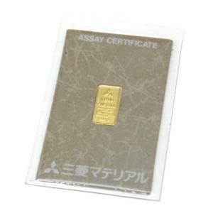 三菱マテリアル 純金インゴット ゴールドバー 24金 ingot /ゴールド/K24 1g(50481) horita78