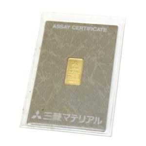 三菱マテリアル 純金インゴット ゴールドバー 24金 ingot /ゴールド/K24 1g(50482) horita78