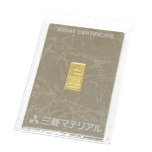 三菱マテリアル 純金インゴット ゴールドバー 24金 ingot /ゴールド/K24 1g(50484) horita78