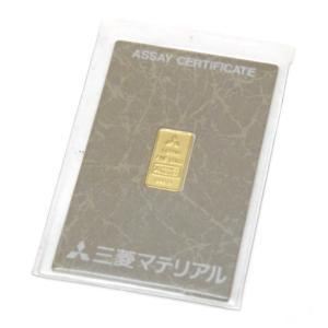 三菱マテリアル 純金インゴット ゴールドバー 24金 ingot /ゴールド/K24 1g(50485) horita78