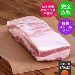 北海道十勝 放牧豚 バラ ブロック 1kg 高品質 北海道産 horizonfarms