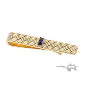 Tiffany&Co. ティファニー サファイア タイピン   イエローゴールド 750YG|hornetito