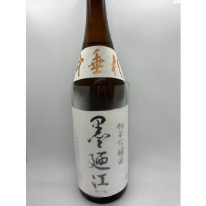 墨廼江【すみのえ】 純米吟醸 中垂れ 1800ml|hoshigulf-1