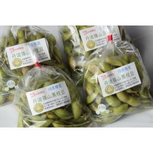 10月お届け 丹波黒枝豆「丹波篠山黒枝豆」 鮮度保持袋入り「さや」のみ 1kg