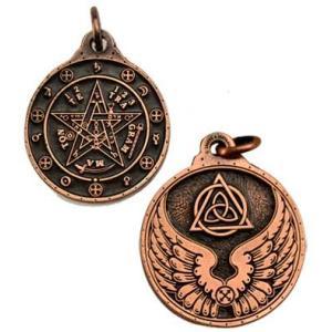 タリスマン テトラグラマトン 銅色 Tetagrammation 魔力アップ|hoshitonotaiwa