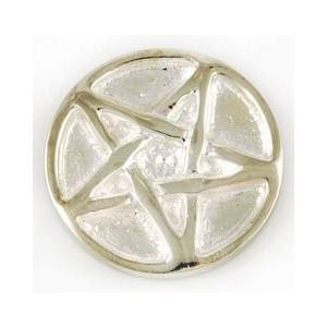 ペンタグラム アルター コイン 約3cm 魔術 祭壇 お守り|hoshitonotaiwa