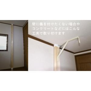 台風対策に最強の室内物干しキット『スーパーラック』 ステンレス・2個セット(ターンバックル・フック付き)|hosinoya-com|14