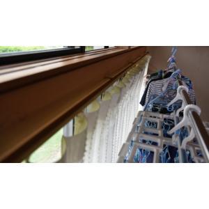 最強の室内物干しキット『スーパーラック』アイボリーホワイト・2個セット(ターンバックル・フック付き)|hosinoya-com|11