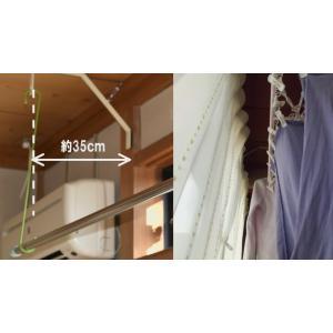 最強の室内物干しキット『スーパーラック』アイボリーホワイト・2個セット(ターンバックル・フック付き)|hosinoya-com|10