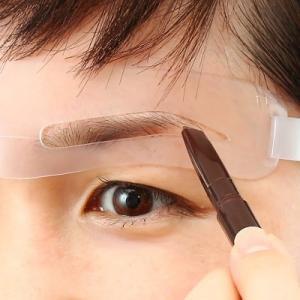 眉毛テンプレート アイブロウガイド MAYU美 女性用 ぐにゃぐにゃ眉毛 タイプ S-08 (固定具別売り)|hosinoya|04