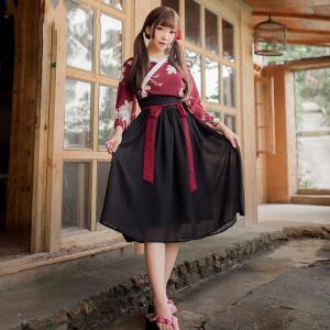 サイズ:フリーサイズ  バスト102cm ウェスト65-88cm 着丈47cm スカート丈72cm ...