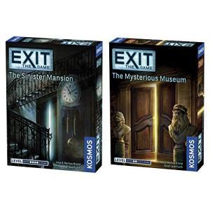 Thames & Kosmos Exit 2 Game Bundle: The Sinister M...