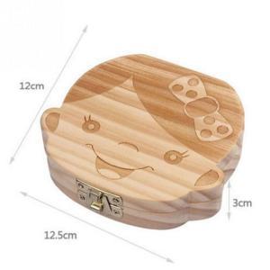 赤ちゃん用 乳歯ボックス 実木材料 乳歯ケース 乳歯入れ|hot-style|02