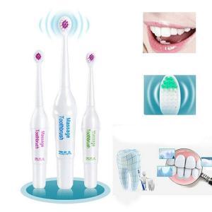 電池式 電動歯ブラシ 3ブラシ ヘッド 口腔衛生 健康製品 無充電式 歯ブラシ 子供 キッズ hot-style