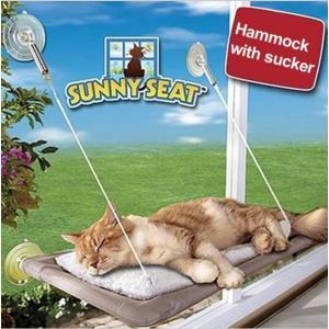 猫 ペット ベッド ウィンドウ ソファー ぶら下げベッド ハンモック マウントペット