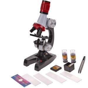 顕微鏡 高性能 マイクロスコープ 子供用 科学 学習 玩具 夏休み 冬休み 宿題 100-1200X倍率 顕微鏡キット|hot-style