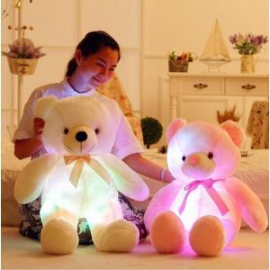 ぴかぴかベアー 光る クマ ぬいぐるみ テディベア マスコット 50センチ ライトアップ LED hot-style 02