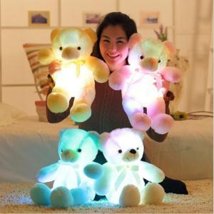 ぴかぴかベアー 光る クマ ぬいぐるみ テディベア マスコット 50センチ ライトアップ LED hot-style 03