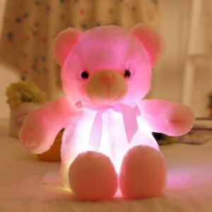 ぴかぴかベアー 光る クマ ぬいぐるみ テディベア マスコット 50センチ ライトアップ LED hot-style 04
