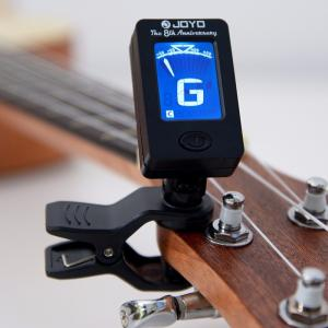 LCDディスプレイ付き ミニクリップオン デジタルチューナー  360度回転式 ギター ベース ウクレレ クロマチック チューナー バイオリン hot-style