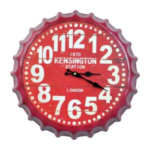 壁掛け時計 レトロ王冠スタイル インテリア時計|hot-style