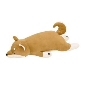 【即納】プレミアム ねむねむ 抱きまくら L コタロウ 48768-44 クリスマス 柴犬 犬 抱き...
