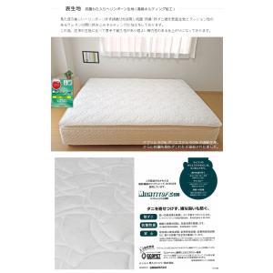 送料無料 ベッド マットレス付き 脚付きマットレスベッド ダブル ピロートップ6.5インチポケットコイル 「国産 日本製」 マットレスベッド|hotakebed|10