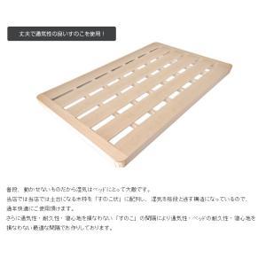 送料無料 ベッド マットレス付き 脚付きマットレスベッド ダブル 薄型ボンネルコイル オックス仕様「国産 日本製」 マットレスベッド hotakebed 08