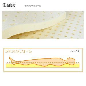 送料無料 マットレス シングル ラテックス スリープサポートマットレス 「国産 日本製 高反発 オーバーレイ」|hotakebed|02