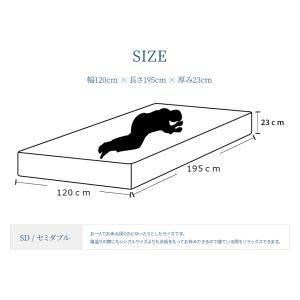 送料無料 マットレス セミダブルサイズ 6.5インチポケットコイルマットレス ベッドマットレス ベッド用マットレス|hotakebed|02